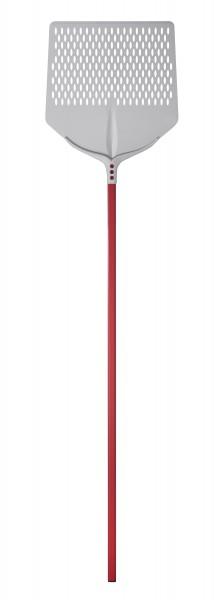 PIZZASCHAUFEL ALU GELOCHT 33x33cm