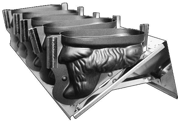 LAMMFORM-BATTERIE (5 LÄMMER á 1,0 L.)